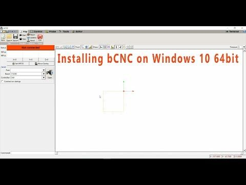 Installing bCNC on Windows 10 64bit (Python 2 7 13 and