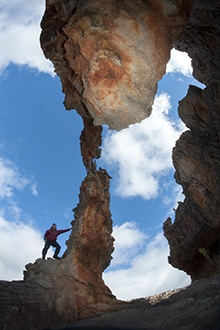Dale Morris (www.geckoeye.com) hikes a hundred kilometres in the Cederberg Wilderness and is bowled over by the rugged peaks, Baltic weather and hobbit-like hospitality...