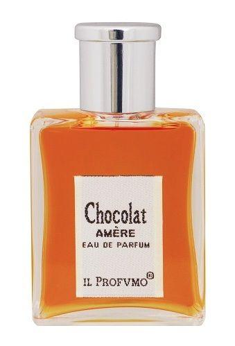 Chocolat Amère IL PROFVMO - Czekoladowa podróż na wschód: imbir, kadzidło i gałka muszkatołowa nadają waniliowo-czekoladowemu sercu charyzmatycznego, pikantnego charakteru.