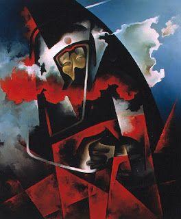 Futurism, Tullio Crali, Kamikaze - 1980
