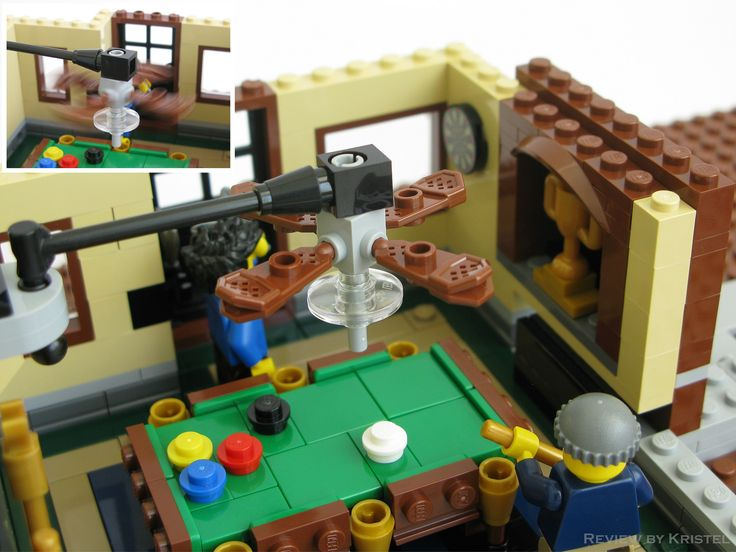 Flickr lego interior arcade pool tables casino etc pinterest - Knights of the round table lego ...