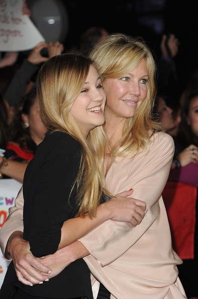Actress Heather Locklear and daughter Ava