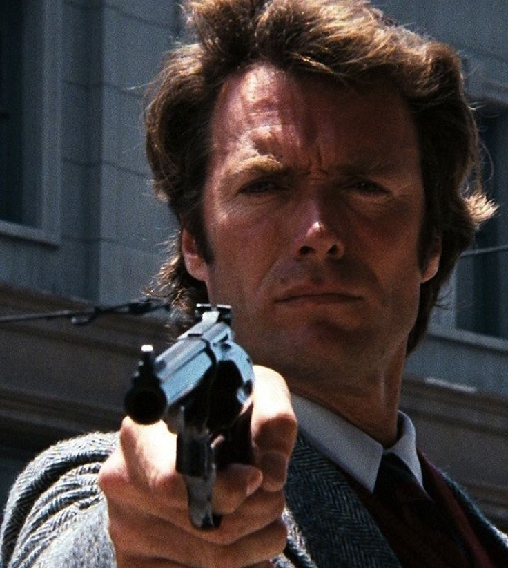 Dirty Harry - Clint Eastwood                                                                                                                                                                                 More