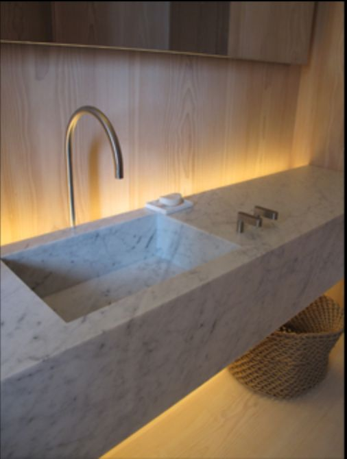 Private residence new york by john pawson bathroom for John pawson lighting
