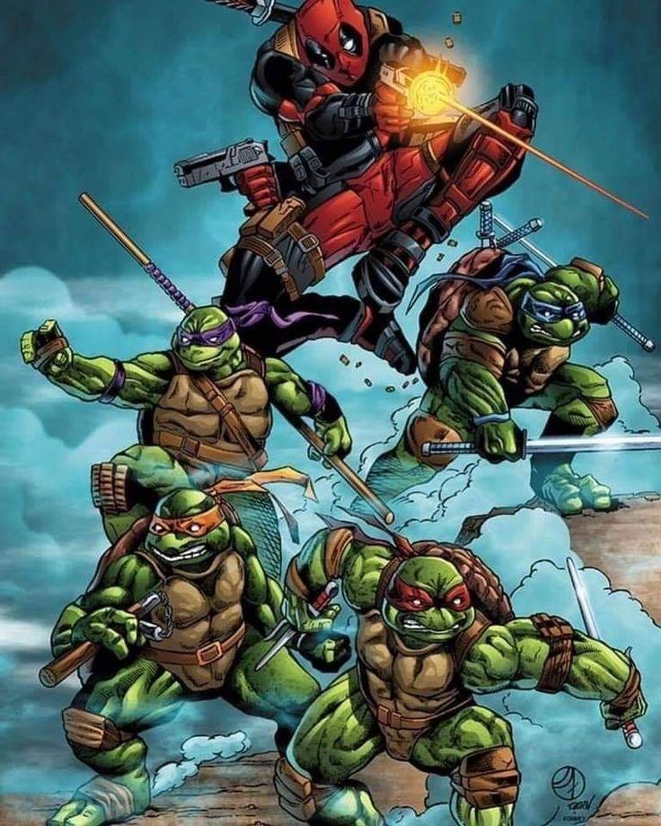 сентябре вышла картинки супергероев черепашки это только