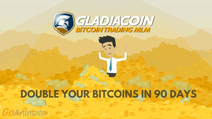 GLADIACOIN - English promo introduction - Double your Bitcoins in 90 days