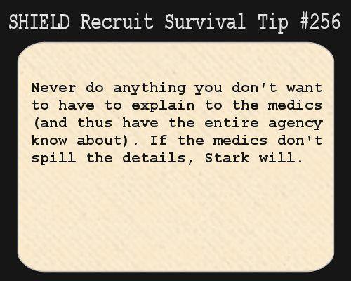 shield recruit survival tips | SHIELD Recruit Tip #256