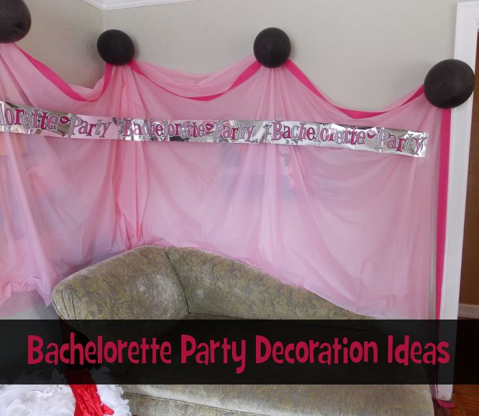 13 best sex and the city party images on pinterest for Bachelorette party decoration ideas