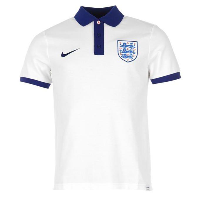 Nike | Nike England Polo Shirt Mens | Football Replica Training Wear
