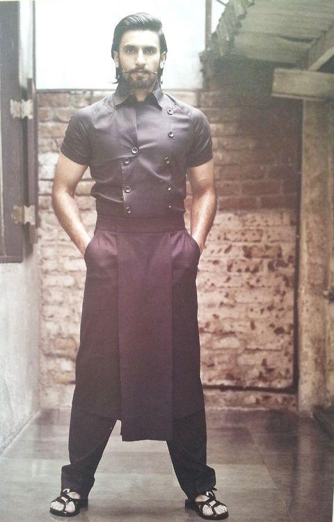 Ranveer Singh wears Arjun Saluja