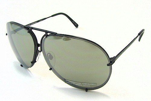 Porsche Design P8478 D Sunglasses P 8478 Black Matte 69mm