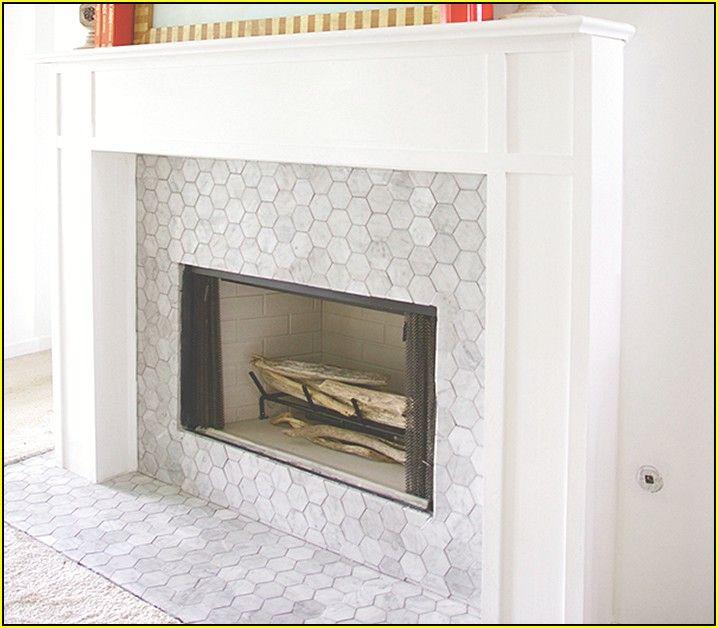Marble Mosaic Tile Fireplace Kandalló Surround és Surrounds
