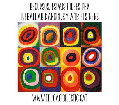 Recursos, espais i idees per treballar Kandinsky amb els nens
