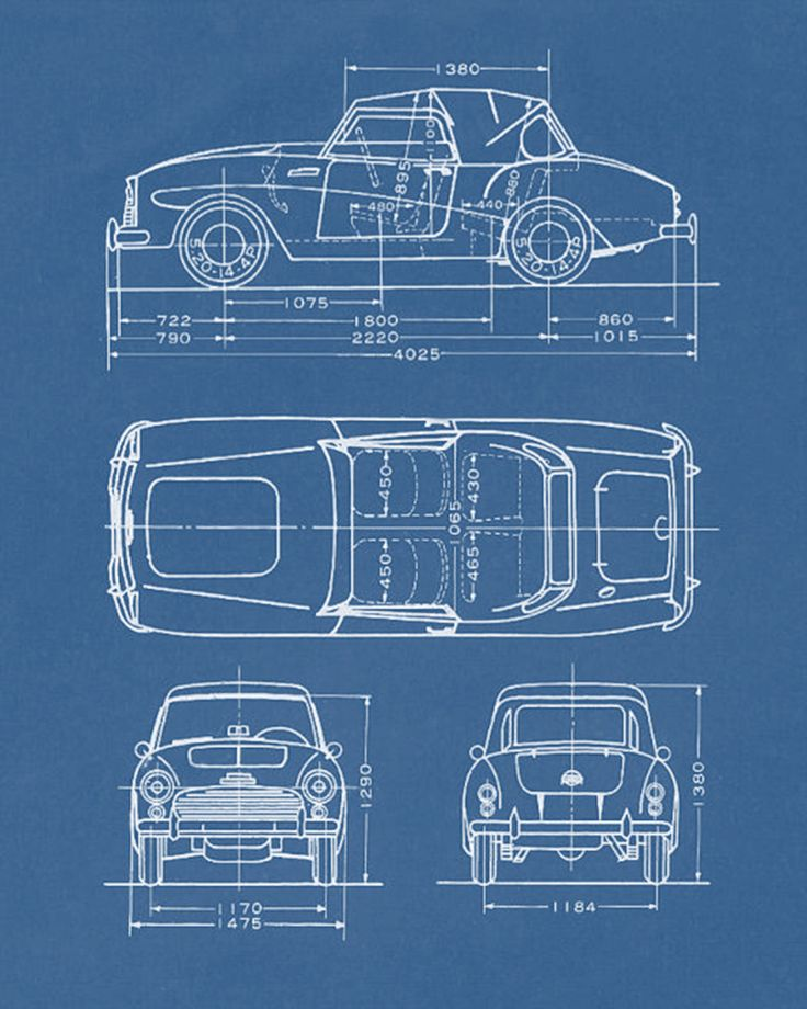 Car Blueprint    technical  drawing   8x10 BlueprintBlueprint Nursery Blueprints. 17 Best images about Design  Blueprints on Pinterest   Buckminster