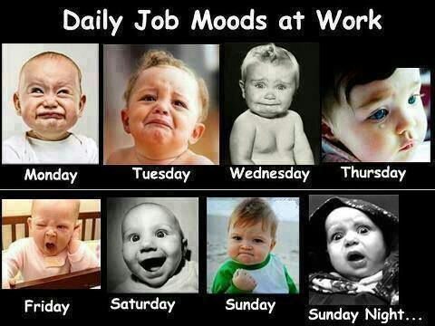 daily job mood works-funny kids expressions