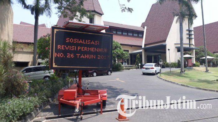 Sosialisasi Revisi Permen No 26 Tahun 2017, Dishub Jatim Kumpulkan 74 Pengusaha Transportasi