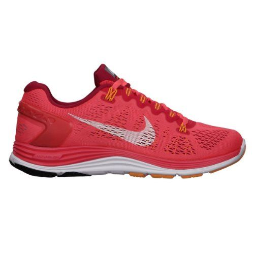 Nike Women's Lunarglide  5 Running Shoes-Laser Crimson-6 *** Check out this great product.