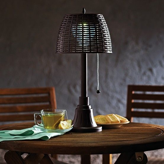 Desk Light Canadian Tire: In Need Of A Little Light? The #CANVAS Wicker Solar Table