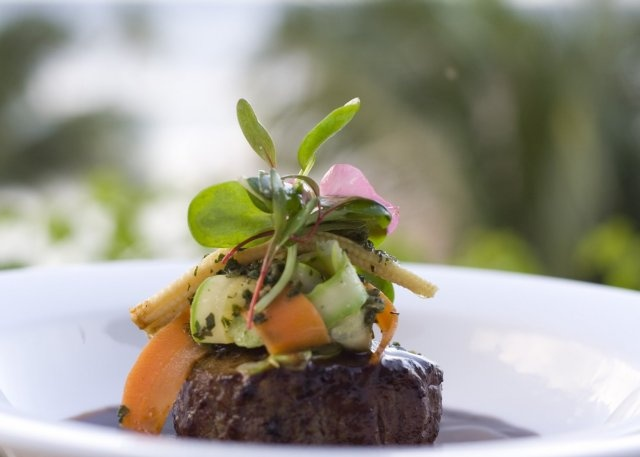 The filet of beef with mole at the Grand Velas Resort's Frida