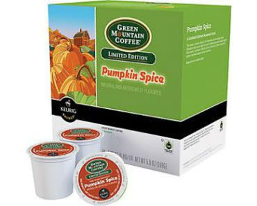 Enter to win a Green Mountain Pumpkin Spice K-Cups giveaway! http://swee.ps/eePYuhxUQ