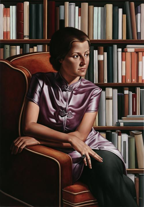 Australian artist Catherine Abel: Portrait of Julia Leigh :: winner of the Archibald Prize 2006 ::