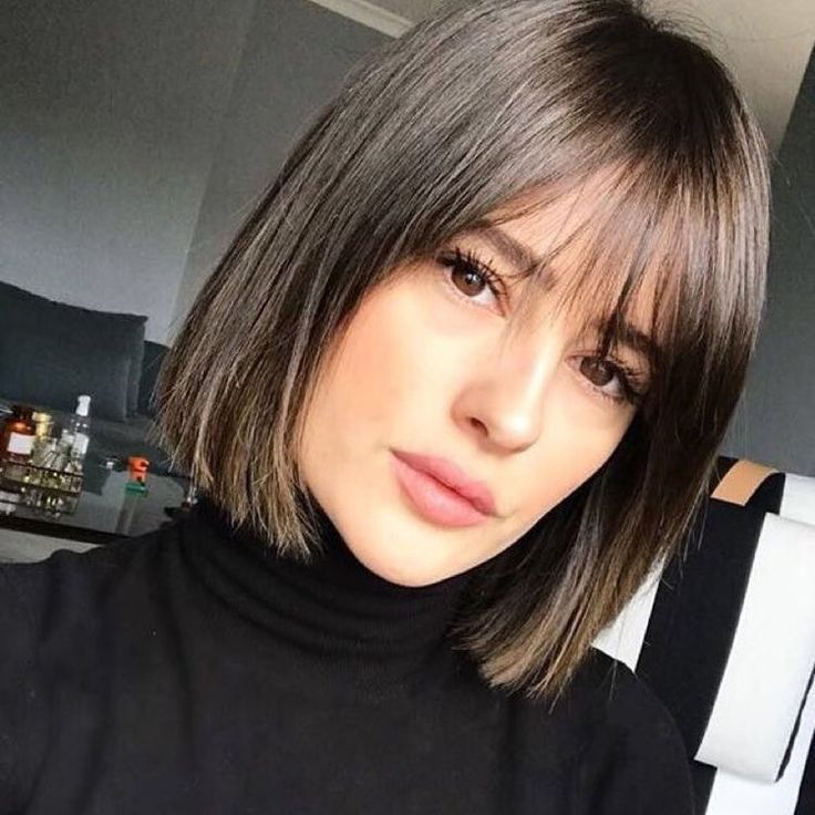 "Makeup, Beauty, Fashion on Instagram: ""Hair with pony are love ❤️ Short hair with pony = ❤️ #bangs #bangstyle #bang #franja #franji ..."