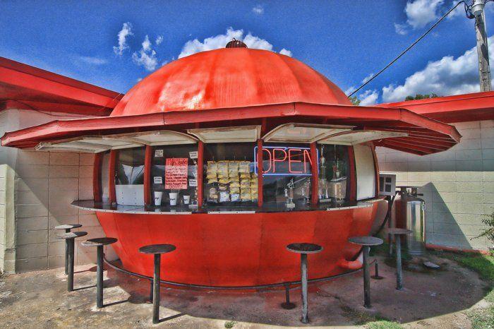 Mammoth Orange Cafe--Redfield, Arkansas - Photo by Amanda Galiano