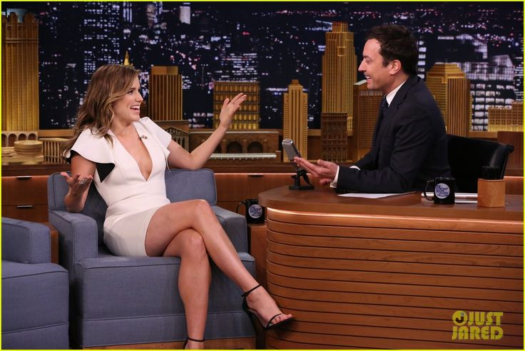 Sophia Bush -Love LOVE her Robert Rodriguez white dress she wore on The tonight show starring Jimmy Fallon ! Just Gorgeous! -CB