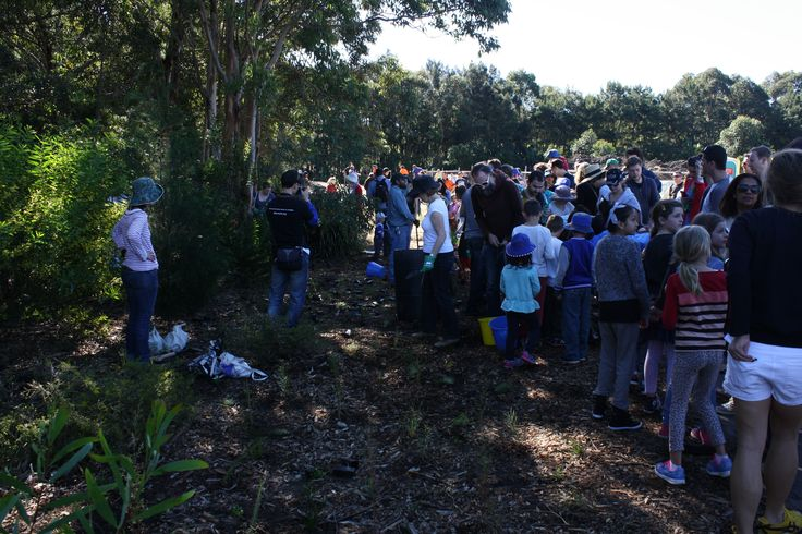 Demonstration at national tree day