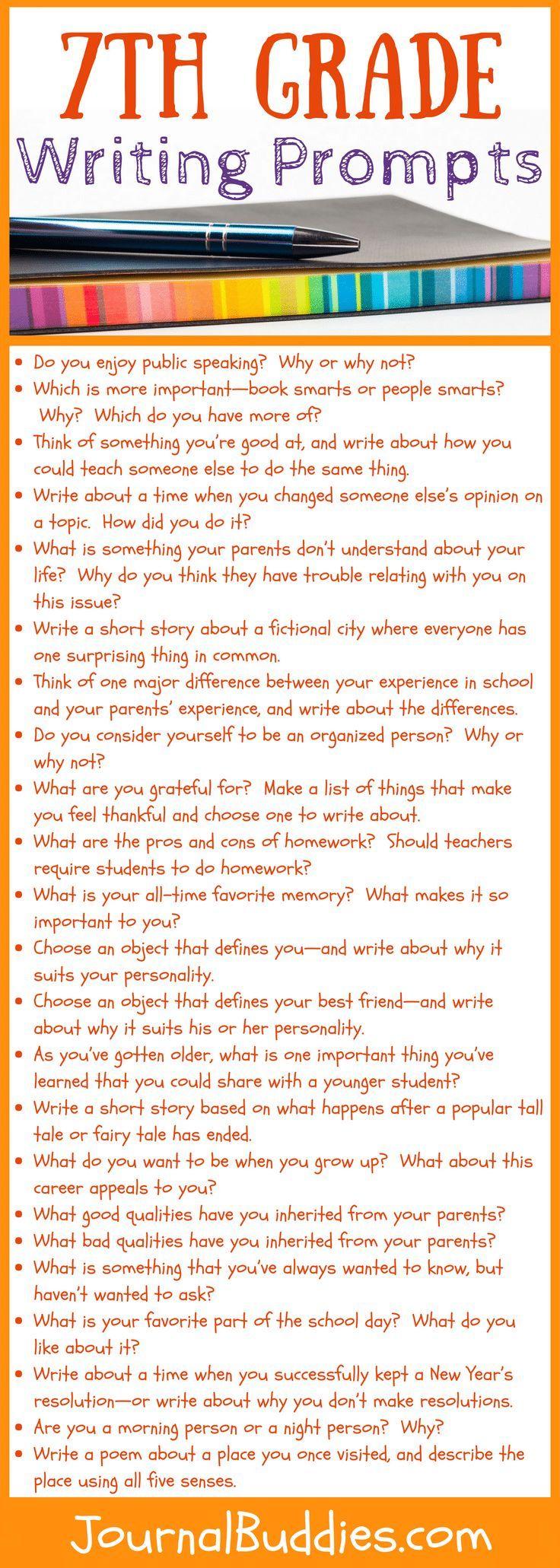 7th Grade Writing Prompts 7th Grade Writing Prompts 7th Grade Writing Middle School Writing [ 2061 x 736 Pixel ]