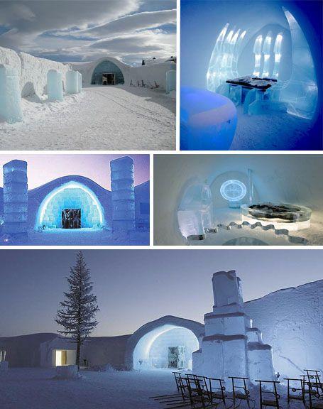 The Ice Hotel (Jukkasjarvi, Sweden)  Let's go @MH06 :)