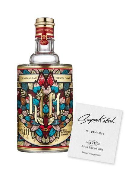 Das 222 Jahre Traditionsparfüm 4711 Echt Kölnisch Wasser hat gemeinsam mit den Künstlern Koralie und Supakitch zwei wunderschöne neue Flakons entworfen.