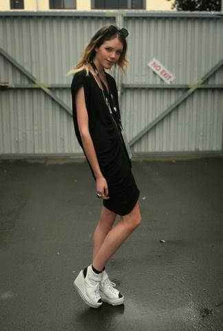 Salasai Dress From Little Black Crown, Bijou Shoes From Shag, Melbourne // ö