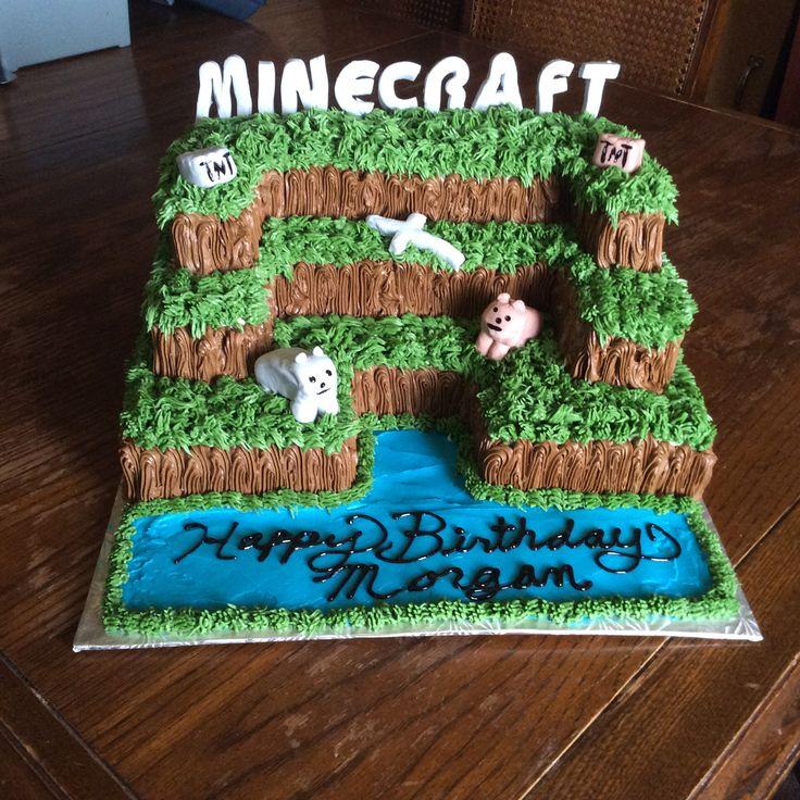 Minecraft cake #2