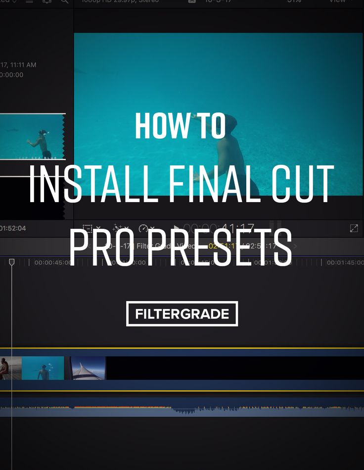 Learn how to install Final Cut Pro Presets to use in your video editing workflow. Presets help you save time when color grading in Final Cut Pro.