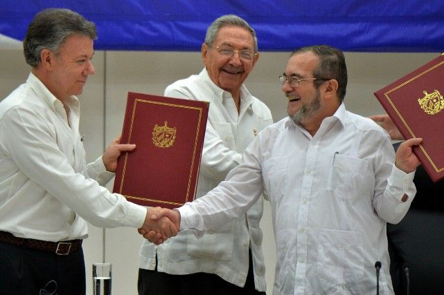 29 août 2016 - Jour historique en Colombie: fin de la guerre avec les FARC