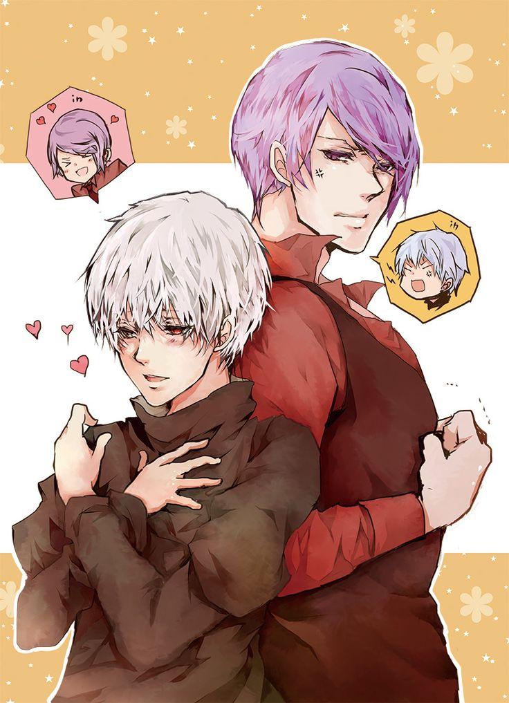 Kaneki and Shuu