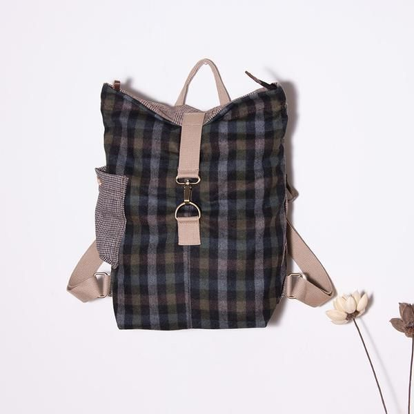 Women Casual Lattice Backpack