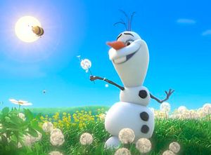 "Which ""Frozen"" Character Are You? IM OLAF!!!! IN SUUUUMMMMMMMMMMEEEEEERRRRRR!!!"
