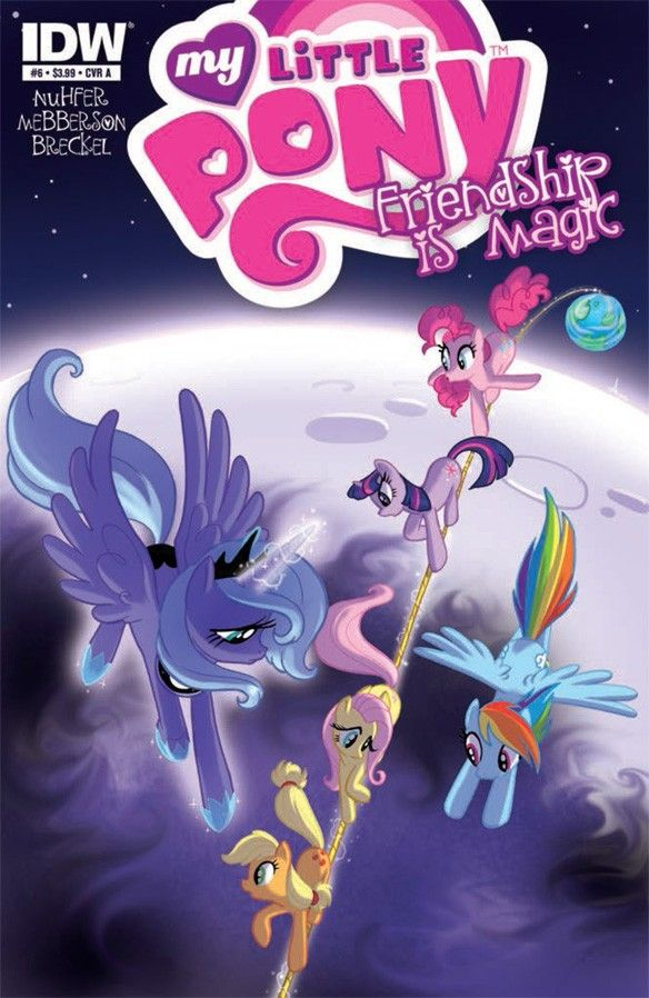 Monday Previews:My Little Pony #6