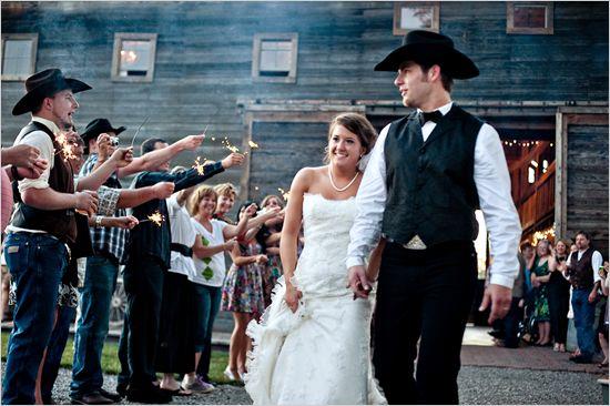 Backyard Western Wedding Ideas : Western weddings, Western wedding ideas and Westerns on Pinterest