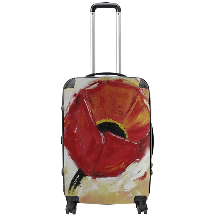 Tired of boring suitcases you can showcase your artistic side on a suitcase blank