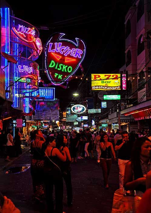 Oh how I miss P.72's.   Great food.    Walking Street, Pattaya, Thailand.