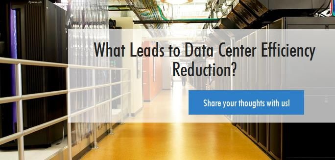 Which factors lead to efficiency reduction in #Datacenters and what can we do to optimize the same. A. Cooling System. B. IT Infrastructure. C. UPS Systems.
