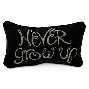 Peter Pan Pillow - ''Never Grow Up''