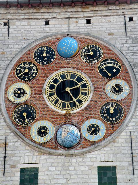 Astronomical Clock (Zimmer Tower). Het Jubeluurwerk, Zimmertoren - Lier, Belgium