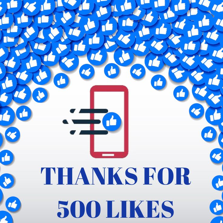 Thank You For 500 Likes On Facebook Thank You Thankful App