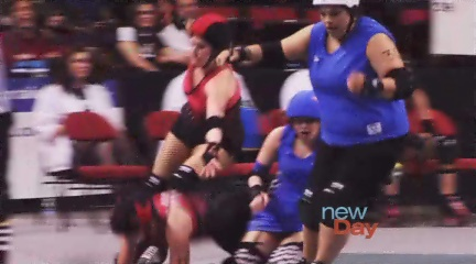 Rat City Rollergirls show off fashion finds from Goodwill