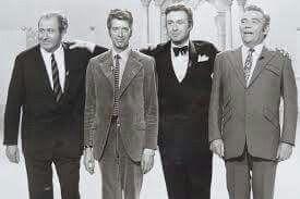 Die Showmaster der 60er/70er Jahre: Peter Frankenfeld, Peter Alexander, Hans Joachim Kulenkampf und Rudi Carell
