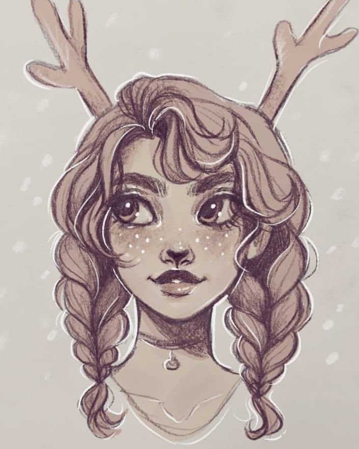 Art By Elliee On Instagram Doodle Cute Illustration Art Instaart Drawing Doodle Cartoon Art Styles Cute Art Art Drawings